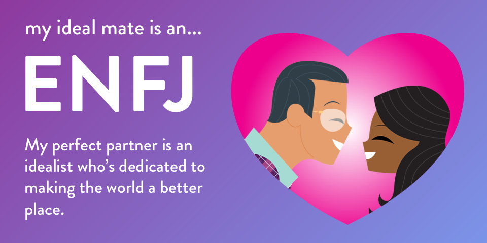 enfj male dating Enfj & infj relationship challenges with an enfj (male) the enfj is prone to feeling hurt when the infj critiques the functioning of the household.