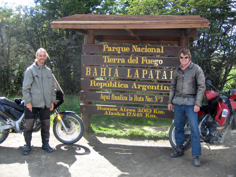Tierra del Fuego National Park, Argentina (Spench is on the left)