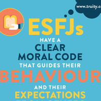 ESFJs have a clear moral code
