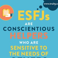 ESFJs are conscientious helpers...