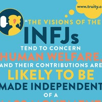 """""""The visions of the INFJs tend to concern human welfare..."""""""