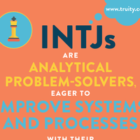 INTJs are analytical problem-solvers...