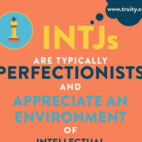 INTJs are typically perfectionists...