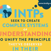 INTPs seek to create complex systems of understanding...