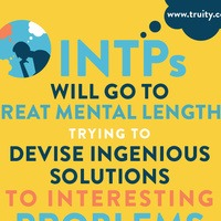 INTPs will go to great mental lengths...